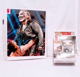 """Bray """"The Fiend"""" Wyatt Autographed Photo And Funko Pop for Sale in Waco,  TX"""