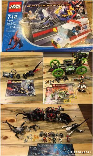 Lego Sets (Batman, City, Creator, Spider-Man, and more!) for Sale in Montgomery, AL