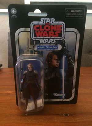 Star Wars The Vintage Collection The Clone Wars Anakin Skywalker action figure new for Sale in Puyallup, WA