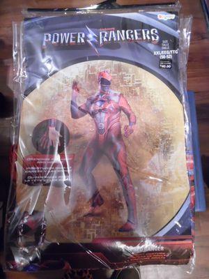 men's red power ranger halloween costume for Sale in San Diego, CA