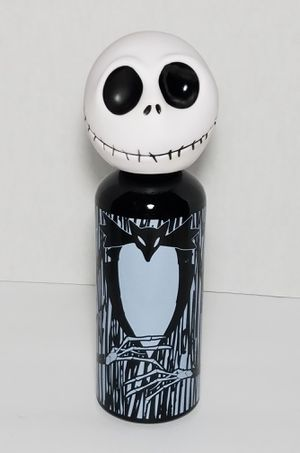 "NEW Disney Nightmare Before Christmas 10"" Jack Skeleton Water Bottle Aluminum for Sale in Dale, TX"