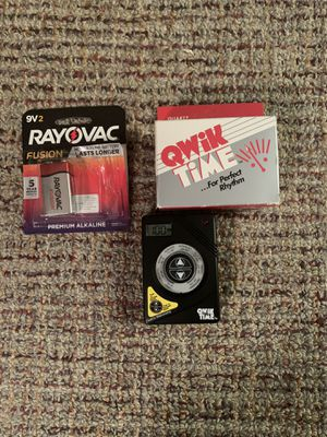 Quick time metronome for guitar for Sale in Toms River, NJ