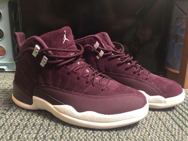 Jordan 12 Bordeaux