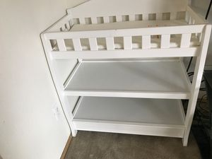White Baby Changing Table for Sale in Everett, WA