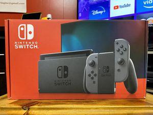 Nintendo Switch 32GB V2 Gray Joy-Con for Sale in Silver Spring, MD
