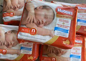 Newborn diapers in sealed bag - NEW - Huggies newborn diapers for Sale in Huntington Beach, CA