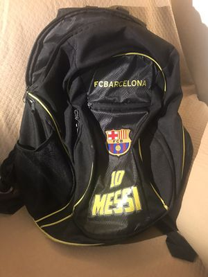 Backpack Messi for Sale in Tolleson, AZ