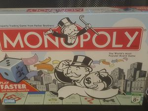 NIB Monopoly Faster Play Board Game for Sale in Holly Hill, FL