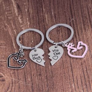 2pc Couples Buck Doe Keychain Set for Sale in Lester, WV