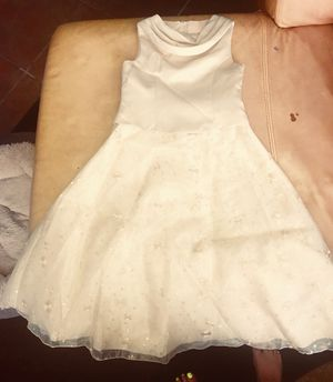 Bonnie Jean butter cream girls Easter dress Size 7 for Sale in Houston, TX