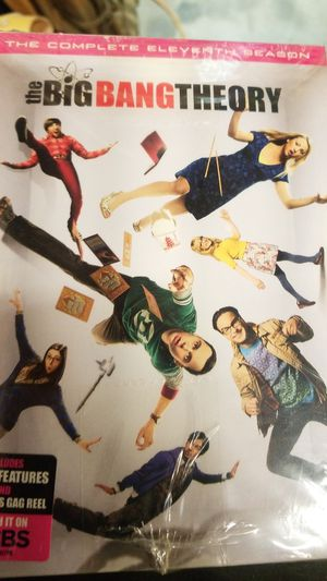 Big bang theory 11 season new $30 for Sale in West Covina, CA