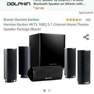 Harmon Kardon HKTS 16BQ 5.1 Channel for Sale in Poway, CA
