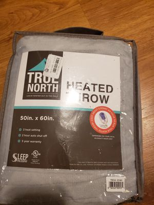 True north heated throw for Sale in Orono, ME