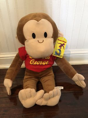 Curious George Plush Toy for Sale in Pompano Beach, FL