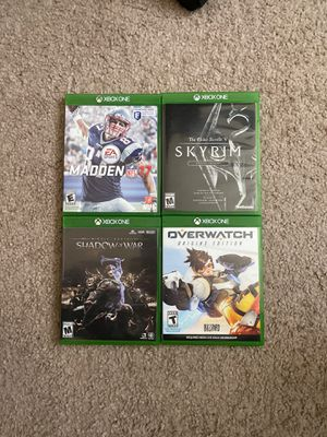 Xbox games $10 each $35 all for Sale in York, PA