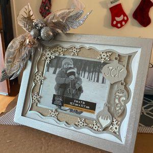 Christmas Photo Frame for Sale in Milton, FL