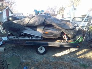 SNOWMOBILE TRAILER RIDE ON RIDE OFF for Sale in Medford, OR