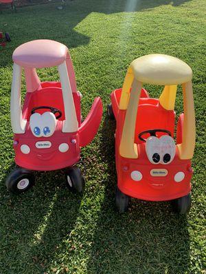 Little tikes cars for kids for Sale in Santa Fe Springs, CA