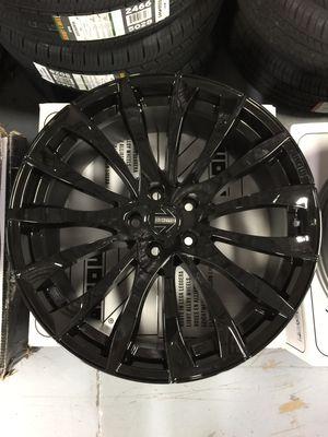 "Brand New 20"" Inch Momo Sting Gloss Black 20X9 20 X 9 Wheels Rims Rines Aros 5X114.3 5X4.5 for Sale in Austin, TX"