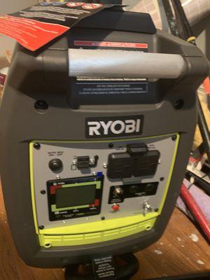 RYOBI 2300 watt generator for Sale in Peabody, MA