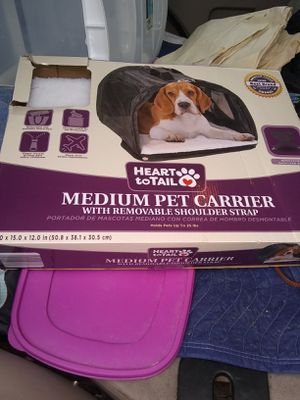 New pet carrier shoulder strap up to 25 lbs for Sale in Alexandria, VA