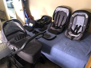 2017 Nuna Mixx Baby Stroller/Car Seat for Sale in Los Angeles, CA