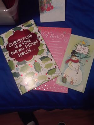 X mas and new years cards, various categories. for Sale in North Fort Myers, FL