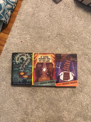 Pseudonymous Bosch The Secret Series 1-3 for Sale in Hudson, NH