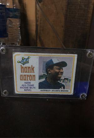 baseball card hank Arron for Sale in Puyallup, WA