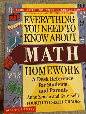Scholastic Homework Reference Guides for Sale in Placentia, CA