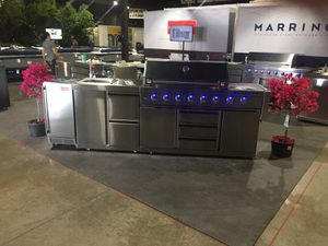 Outdoor kitchen bbq grill barbecue stainless for Sale in West Palm Beach, FL
