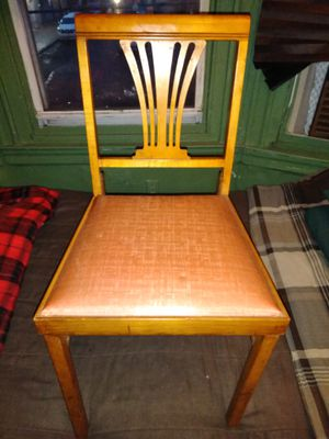 Antique Norquist Portable Folding Chair. for Sale in Philadelphia, PA