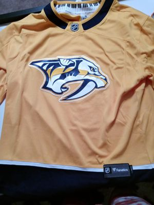 NHL Nashville new jersey stitched nice for Sale in Dallas, TX