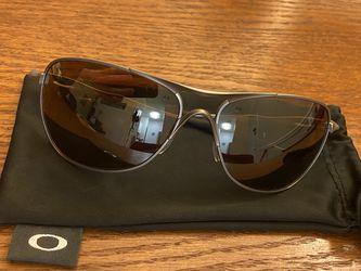 Oakley Titanium Crosshair Tungsten Iridium polarized sunglasses for Sale in Fairfax,  VA