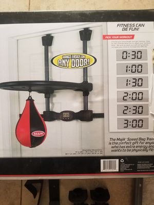 Brand new punching speed bag for Sale in Phoenix, AZ