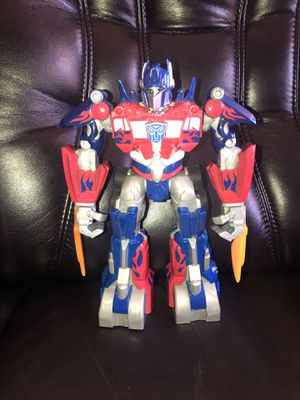 Transformers Optimus Prime Figure Toy Hasbro 2009 for Sale in Hayward, CA
