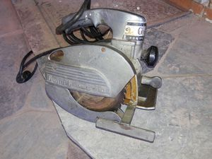 Antique Porter Cable saw, works great. for Sale in Detroit, MI