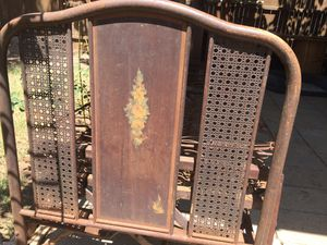 Antique Iron Bed Frame for Sale in Lubbock, TX