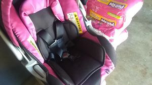 4 bags of pull-ups and car seat for Sale in Keizer, OR