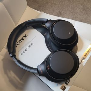 Sony WH-100MX3 Noise Cancelling Headphones - Like New for Sale in Little Elm, TX