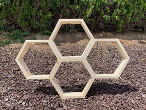 Honeycomb Wall decor Shelves for Sale in Palos Verdes Estates, CA