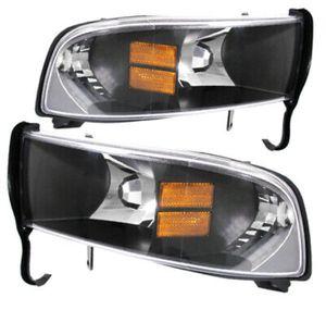 1994-2001 Dodge Ram black housing headlights for Sale in Houston, TX