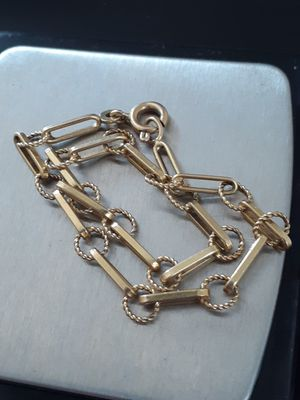 $230! 18k gold bracelet for Sale in Tacoma, WA