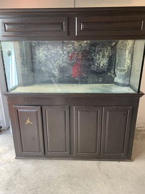 Fish 220 gallon with all lights remote paided over 5,000 for Sale in West Palm Beach, FL