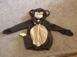 Toddler Monkey costume size 2/3 year old for Sale in Camas, WA