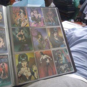 Elvira Mistress Of Ommichrome 72 Cards Complete Set for Sale in Santa Clara, CA