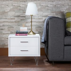 JUST $50 DOWN White Deos Nightstand for Sale in Miami, FL