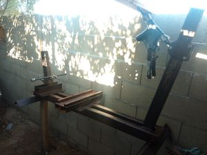 Frame jig with Harley-Davidson neck and matching clean title for Sale in Phoenix, AZ