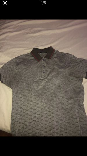 Gucci polo dress shirt fit size m and s for Sale in Silver Spring, MD