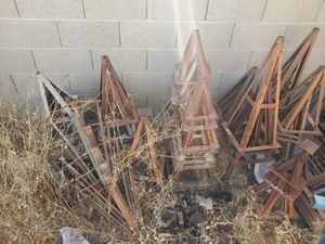 Pile of mobile home trailer steel pier jack stands 100+ different sizes for Sale in North Las Vegas, NV
